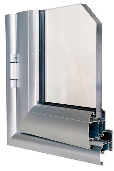 502hc infissi in alluminio antares small taglio termico - Costo finestre taglio termico ...