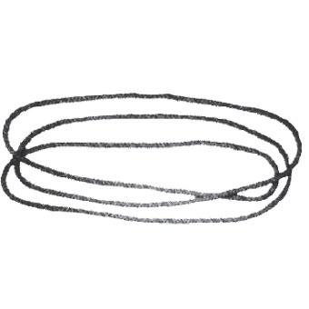 Cordone per avvolgitore a frizione